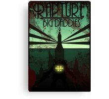 Bioshock Damaged Rapture Art Work  Canvas Print