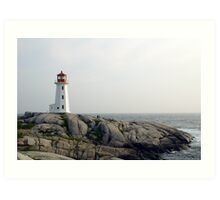 Peggy's point light Art Print