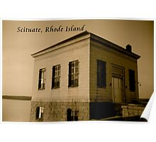 Scituate Reservoir Water Pumping Station #1 Postcard Poster