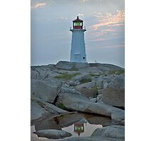 Peggy's point light reflection Photographic Print