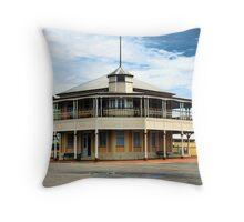 """Bowen Harbour Board Building"" Throw Pillow"