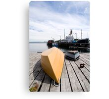 Lunenberg Harbour Nova Scotia Canada Canvas Print