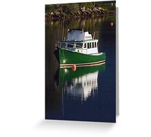 Hubbards Calm reflection before the storm Greeting Card