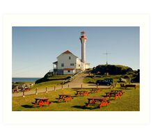 Cape Forchu Nova Scotia Canada Art Print