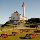Cape Forchu Nova Scotia Canada by Roxane Bay