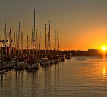 Marina Boats by Kevin Bergen
