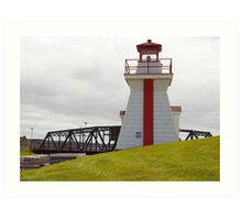 Balache Point range marker Nova Scotia Canada Art Print