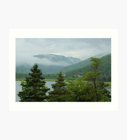 Nova Scotia mist Art Print