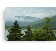 Nova Scotia mist Canvas Print