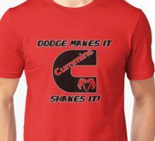 dodge make it, cummins shake it Unisex T-Shirt