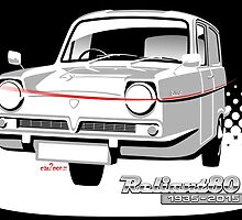 Reliant Regal Supervan anniversary by car2oonz