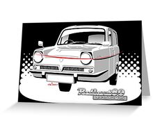 Reliant Regal Supervan anniversary Greeting Card