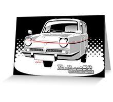 Reliant Regal Supervan anniversary Greeting Card