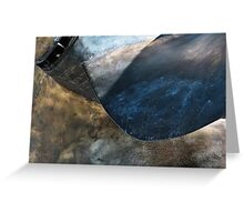 Marine Abstract #6 Greeting Card