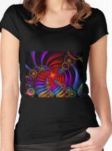 Someone's Rainbow Women's Fitted Scoop T-Shirt
