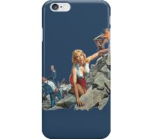 Babe on the Rocks iPhone Case/Skin
