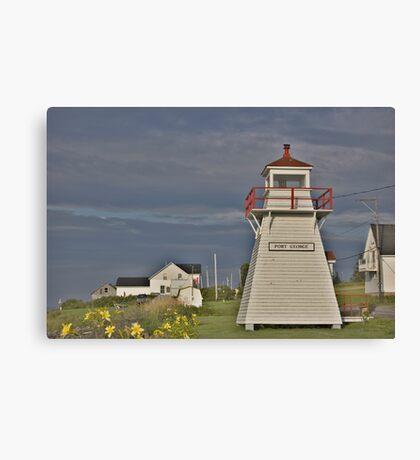 Port George Nova Scotia Canada Canvas Print