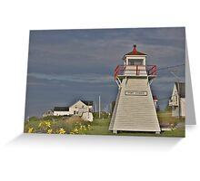 Port George Nova Scotia Canada Greeting Card