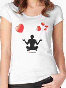 LOVE GURU Women's Fitted Scoop T-Shirt