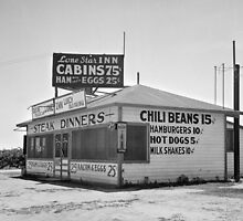 Roadside Diner, 1939 by historyphoto