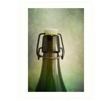 Old bottle Art Print