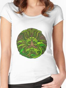 GreenMan Women's Fitted Scoop T-Shirt