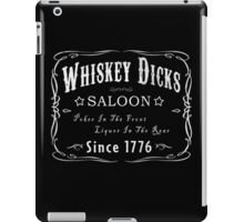 WHISKEY DICKS SALOON iPad Case/Skin