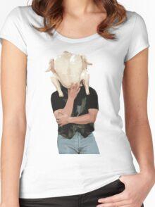 Turkey Head Women's Fitted Scoop T-Shirt