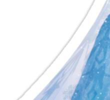 Queen Elsa Cartoon Sticker