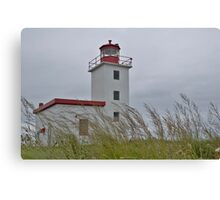 Caribou lighthouse Nova Scotia Canada Canvas Print