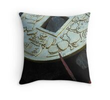 Ding Throw Pillow