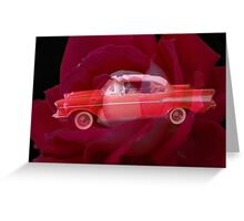 Rosy Bel-aire Greeting Card