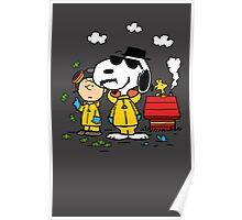 Peanuts BreakingBad Poster