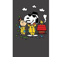 Peanuts BreakingBad Photographic Print