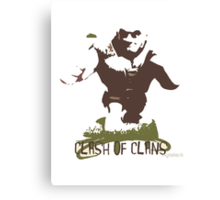 Clash of clans - Giant Canvas Print
