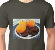 A Fruity Breakfast - Dates and Plums Unisex T-Shirt
