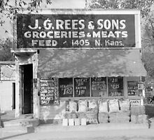Grocery & Feed Store, 1938 by historyphoto