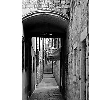 ALLEY AND AWNING Photographic Print