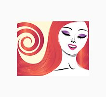 Girl with red hair 3 Unisex T-Shirt