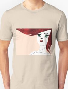 Girl with red hair 4 T-Shirt