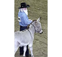 Prospecting for Ribbons Photographic Print