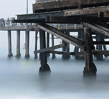 Misty Morning at Redondo by Kevin Bergen