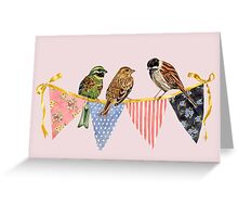 Bunting Party Greeting Card