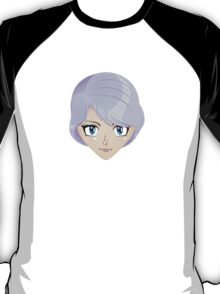 Girl with violet hair 2 T-Shirt