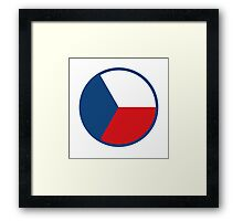 Czech Air Force - Roundel Framed Print