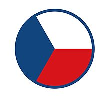 Czech Air Force - Roundel Photographic Print