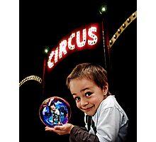 Circus Boy Photographic Print