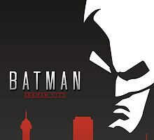 Batman Arkham City Simplistic by LinearStudios