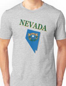 Nevada state flag Unisex T-Shirt