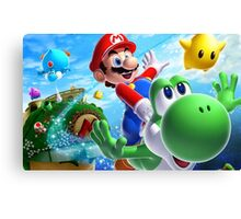 MARIO FLY PRODUCT Canvas Print